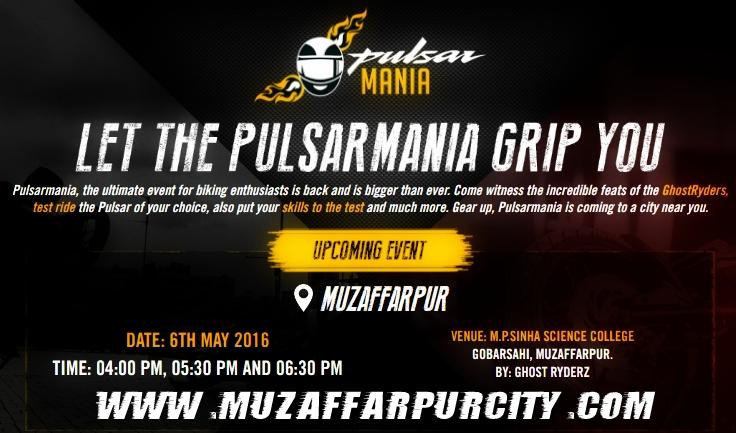 Pulsar Mania Muzaffarpur stunt video