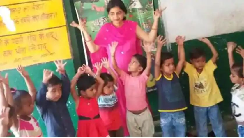 Anganwadi worker 10th pass in pre primary only chance to teach