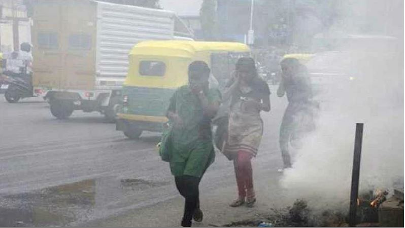 Patna ranks third in the country in poisonous air ranking, Muzaffarpur becomes number one
