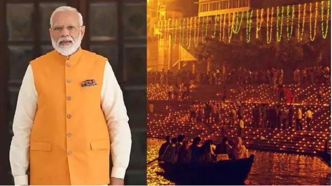 Preparations for the grand event of Dev Diwali in Kashi, may include PM Modi