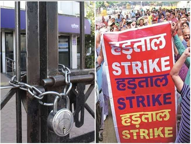 Torch procession removed the success of the strike in Kanti