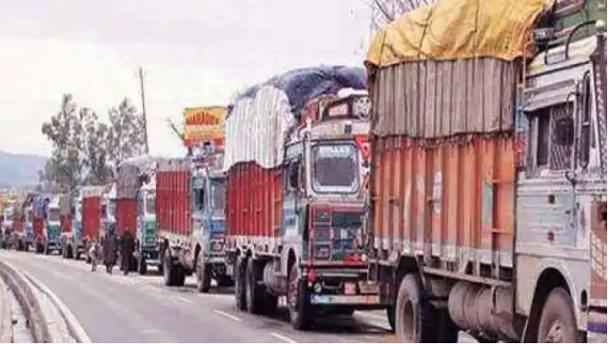 Strict against overloading, Rs 2 crore recovered in three-day campaign, 367 vehicles stopped
