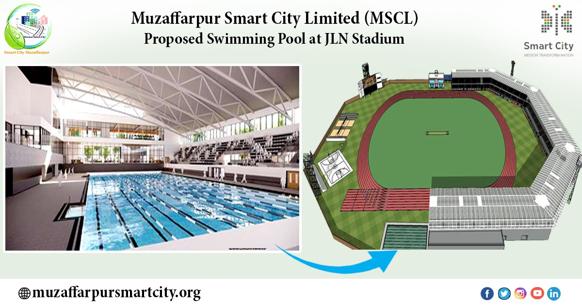 Swimming Pool at Nehru Stadium Muzaffarpur